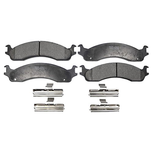 TEC T655 Professional Ceramic Brake Pad Set, Front for sale  Delivered anywhere in USA