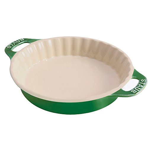 Green Pie Pan (Staub 40508-617 Bakeware-Pie-Pans, 9