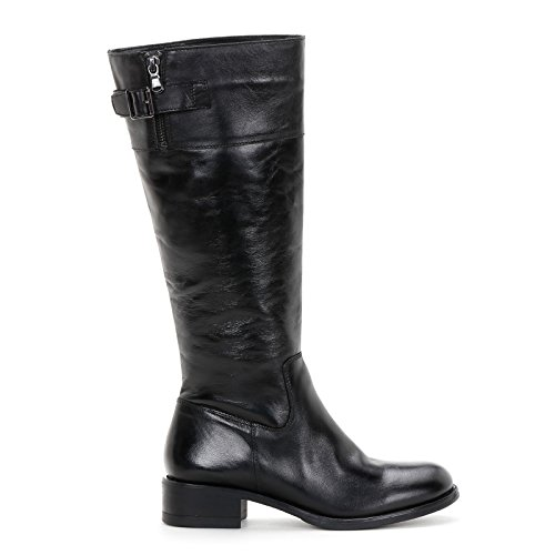 Alesya by Scarpe&Scarpe - Stiefel, Leder - 36,0, Schwarz