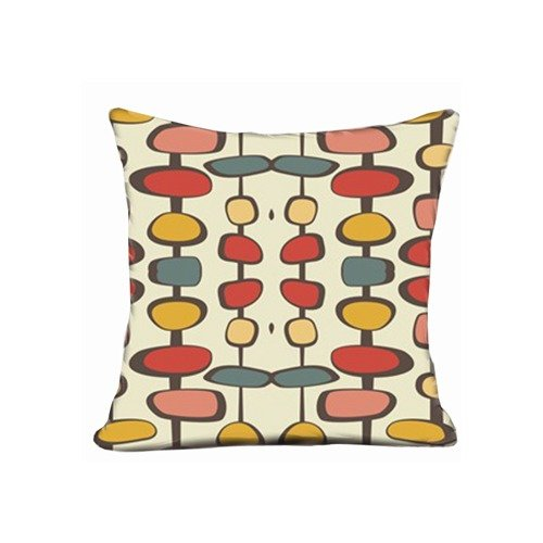 Bed Pillowcase Midcentury Modern Bead Pillow Case For 20