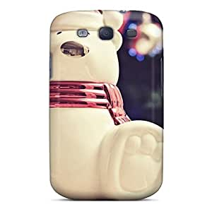 DKw1212fWoi Anti-scratch Case Cover Abrahamcc Protective Christmas Polar Bear Case For Galaxy S3