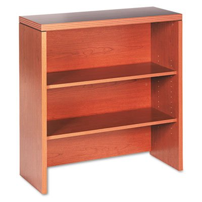 HON 11500 Series Valido Bookcase Hutch, 36 W by 14-5/8 D by 37-1/2 H, Bourbon Cherry