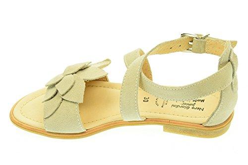 Sandalias adolescentes NEGRO JARDIN P531010F / 702 Beige