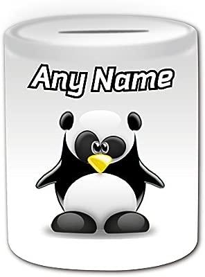 Cadeau Personnalisé Panda Tirelire Pingouin Animal
