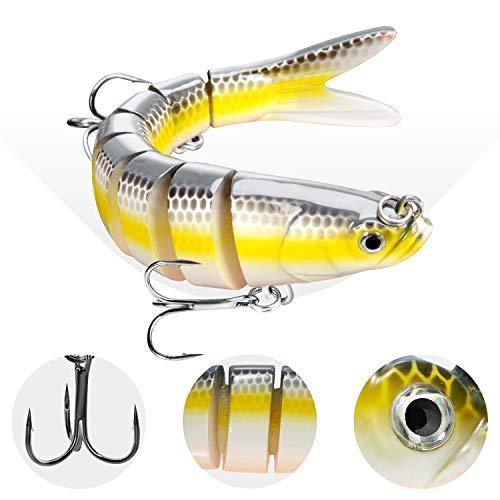 CharmYee Bass Fishing Lure Topwater Bass Lures Fishing ...