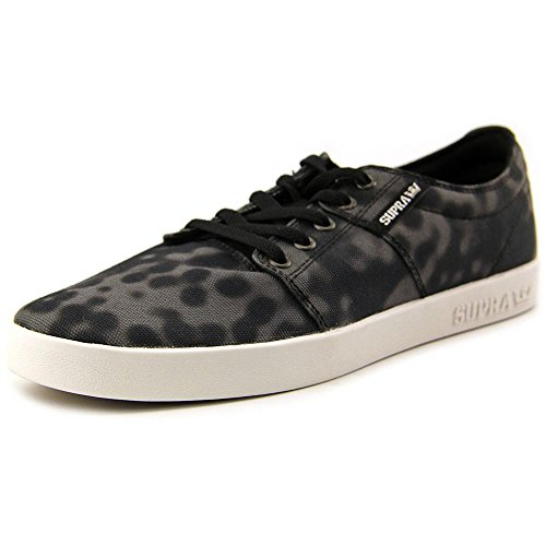 black top Nero Unisex Adults' print Low Sneakers white Ii Supra Stacks 8CWqFw