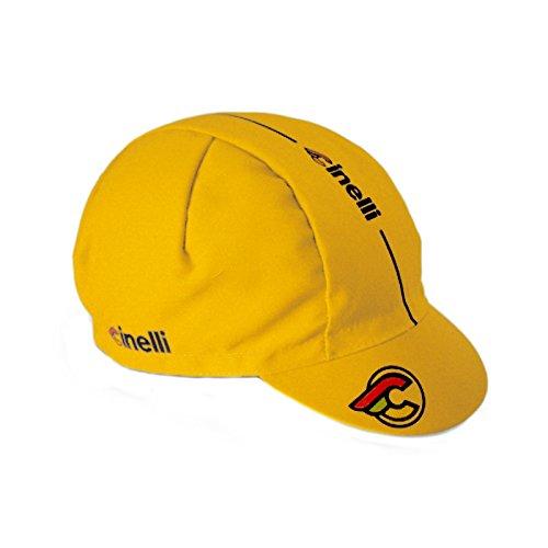 color única Cinelli negro Gorra para Mütze de Supercorsa amarillo talla ciclismo hombre wrpr8q0vnx