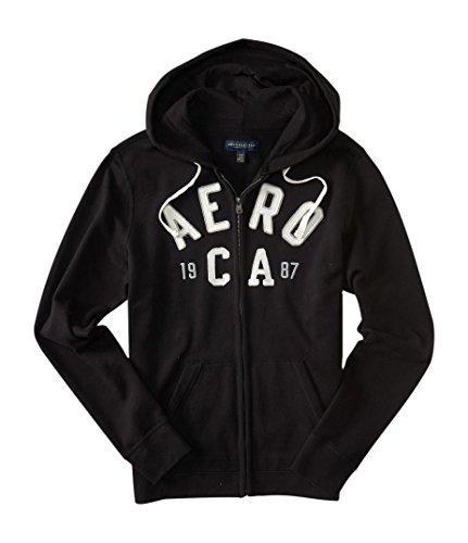 aeropostale-mens-aero-ca-1987-full-zip-hoodie-m-black