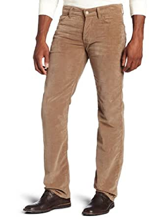 7 For All Mankind Men's Standard Classic Straight Leg Corduroy Pant, Brown, 30