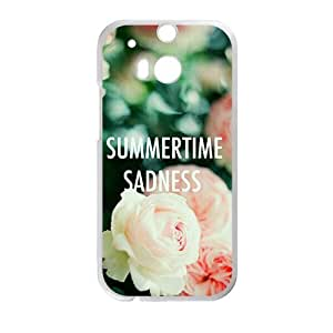 Happy Flowers Phone Case for HTC One M8 case