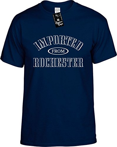 Mens Funny T-Shirt Size L (Imported From Rochester (NY) Unisex - Rochester Shopping Ny In