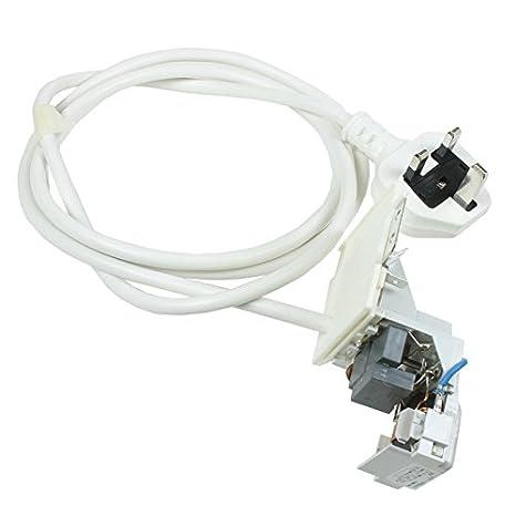 Lavadora Indesit arranview supresor + Cable de corriente: Amazon ...