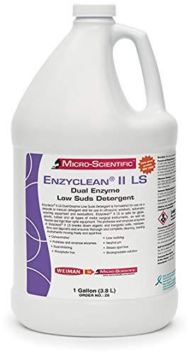 Micro-Scientific Enzyclean II Dual Enzymatic Low Suds Detergent, Gallon Z6