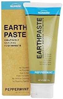 product image for Redmond Earthpaste - Natural Non-Fluoride Toothpaste, Peppermint, 4 Ounce Tube (2 Pack)…