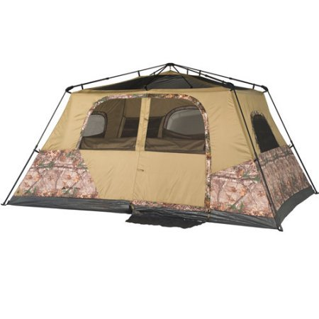 Easy-to-Set-Up-No-Assembly-Ozark-Trail-13-x-9-Instant-Cabin-Tent-with-Realtree-Xtra-Camo-Sleeps-8-With-Carry-Bag