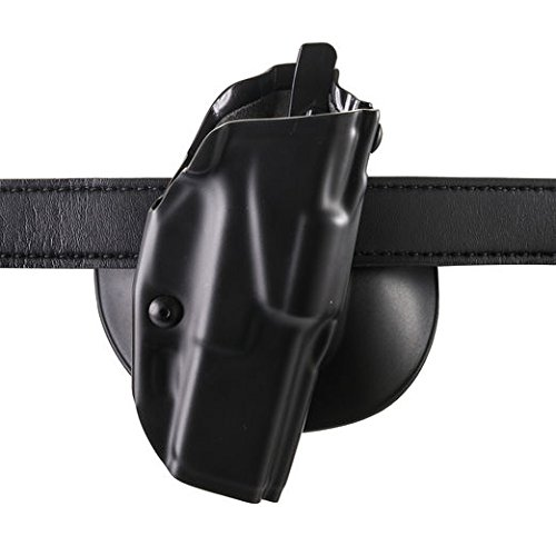 Safariland 6378 ALS, Paddle & Belt Slide Holster, Glock 20, 21 w/ITI M3, Plain Black, Right Hand