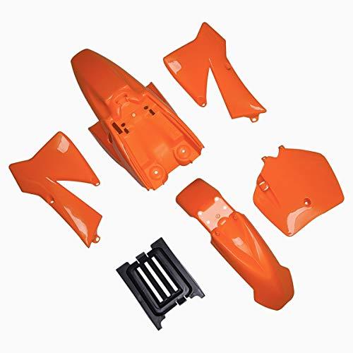 - Plastic Fender Kit for 50SX MT50 MTK50 Mini Adventure 2002-2008 50 SX Junior 50cc Orange