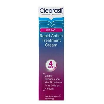 clearasil ultra rapid action treatment cream