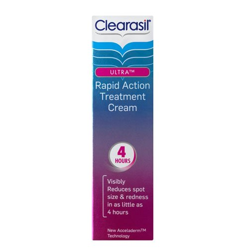 Clearasil Ultra Rapid Action Treatment Cream 25ml 291057