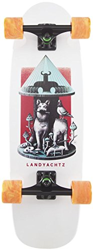 Landyachtz TugBoat Dog Temple Mini Cruiser Longboard Skateboard New 2017