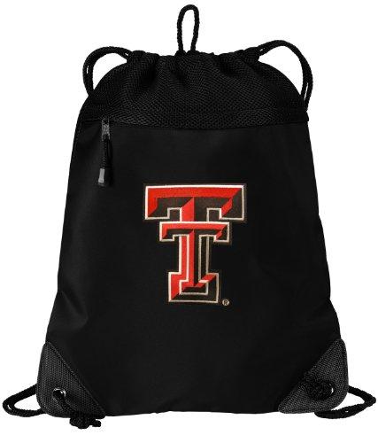 Texas Tech Red Raiders Drawstring Bag Texas Tech Cinch Pack Backpack UNIQUE MESH & MICROFIBER