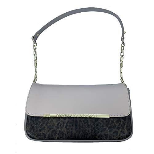 Roberto Cavalli Candy Leopard Shoulder Bag