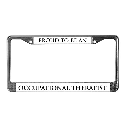 Thing need consider when find occupational therapist license plate frame?