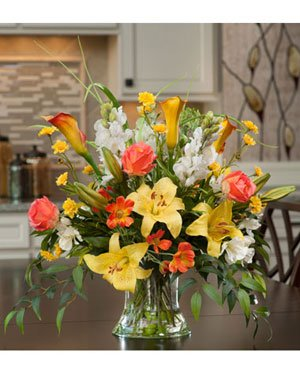 Lily-Rose-Snapdragon-Silk-Centerpiece