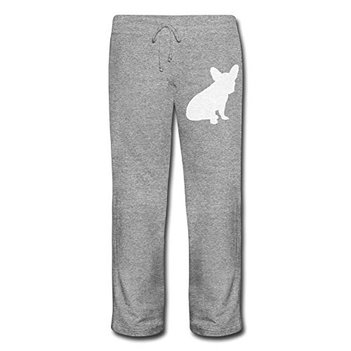 SWW&098 French Bulldog Silhouette3-2 Women Jogger Drawstring