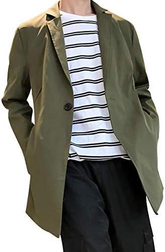 トレンチコート メンズ ステンカラー コート ジャケット 秋 冬 春 ロングジャケット 無地 防風 ビジネス カジュアル ロングコート メンズ ジャケット