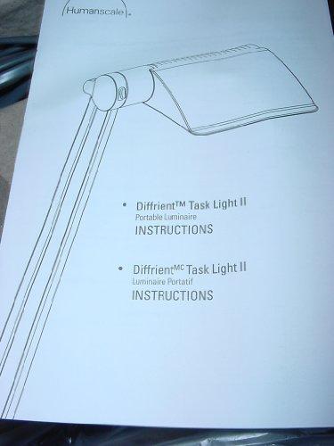 Humanscale Diffrient Task Light - 1