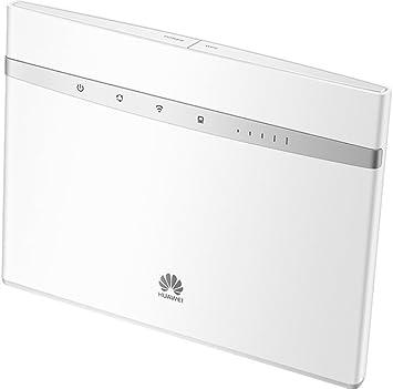 Huawei B525s 23a blanc Routeur 4G+ LTE LTE A Catégorie 6 Gigabit WiFi AC 2 x SMA pour antenne externe (Blanc)