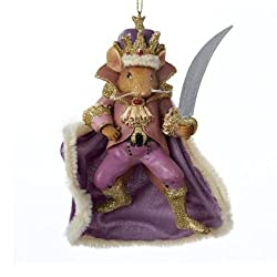 "Kurt Adler 4.5"" Nutcracker Suite Mouse King Ornament"