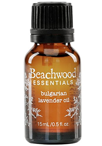 Ethically Harvested Essential Oil (Beachwood Essentials, Bulgarian Lavender Oil, Non-toxic Therapeutic Grade Essential Oil that Cleanses and Purifies, Aromatherapy, Cruelty Free, 15mL / .5 fl. oz)
