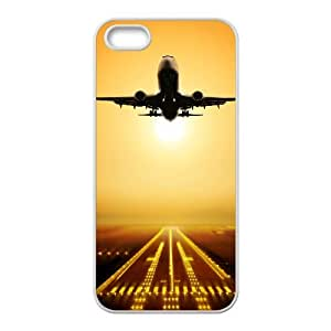 Winfors Airplane Phone Case For iPhone 5,5S [Pattern-5]