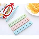 Multi Color Food Clips Bag Sealing Clips Fresh-Keeping Clamp Sealer Snack Storage Refrigerator For Kitchen 20 pcs (10…