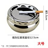 SFSYDDY Tea Table Large Pure White Round Table Cafe Capacity Desk Student Ordinary Ashtray Tuba