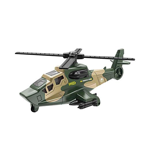 Hot Sale Helicopter Model Toy Aircraft Army Toy Pull Back Vehicles Car Toys For Kids Gift Boy toy