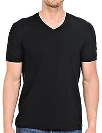 Men's Premium Cotton Classic Short Sleeve V-Neck T-Shirt
