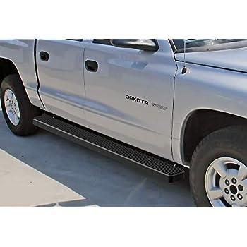 "For 2000-2004 Dodge Dakota Quad//Crew Cab 3/"" Side Step Nerf Bars Boards Hd Black"