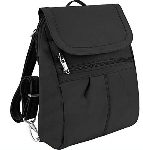 Tailored Backpack - Travelon Anti-Theft Signature Slim Backpack, Black