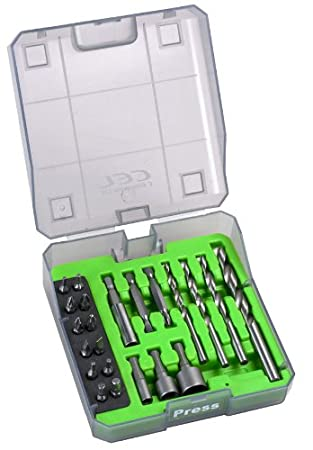 CEL AP01 - Caja de accesorios estándar para taladro: Amazon.es: Bricolaje y herramientas