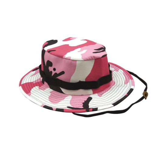 Jungle Hat, Pink Camo, Large by Rothco