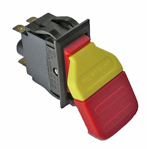 UPC 704660051517, Ridgid EB44241 Sander R4512 Table Saw Replacement Switch # 089038003701