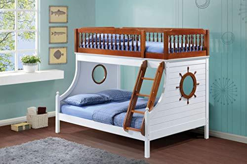 Acme Furniture 37600 Farah Twin Over Full Bunk Bed, Twin/Ful