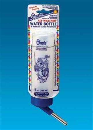 Kordon/Oasis (Novalek) SOA80510 Frosted Hamster All Weather Water Bottle, 8-Ounce by Kordon - Kordon Bottle