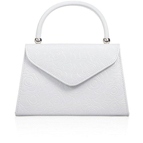 Xardi London - Bolso de tela para mujer blanco