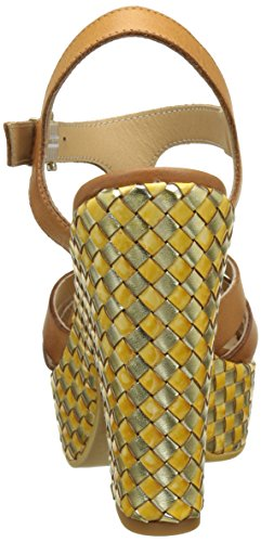 Sandals Allegra Women's Vacchetta Donna T Piu 4000 Bar Brown Cuoio Vacchetta Cuoio gqAnCSxwO