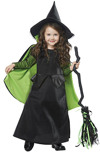 Wicked Witch of Oz Toddler Costume Black/Green ()