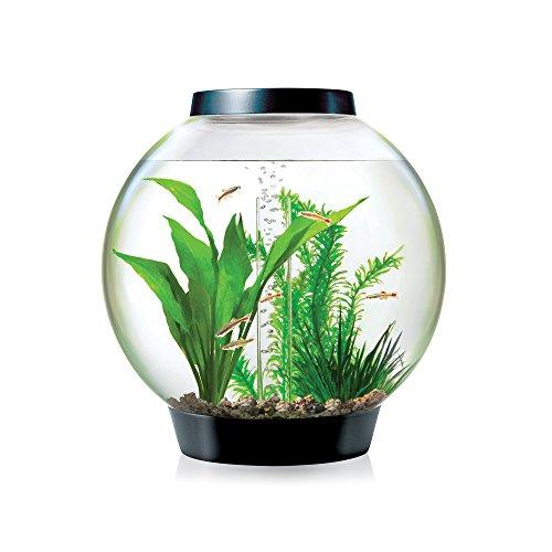 biOrb CLASSIC 15 Aquarium with LED Light – 4 Gallon, Black